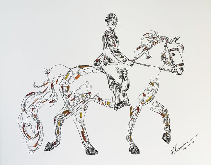 Saturday Ride - Kendra Fleischman Fine Art