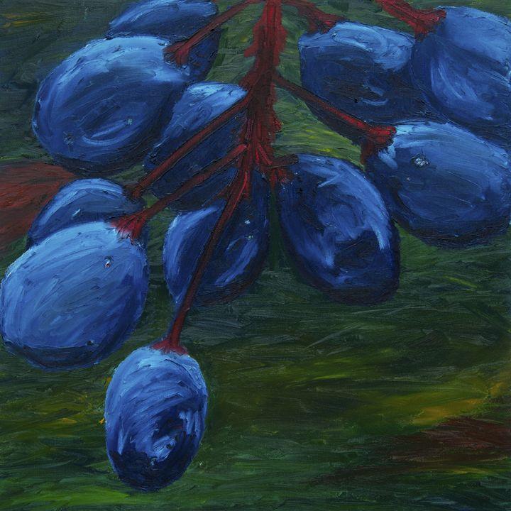 Native Blue - J Tuttle Art