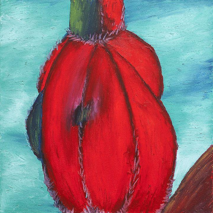 Seed Pod 2 - J Tuttle Art