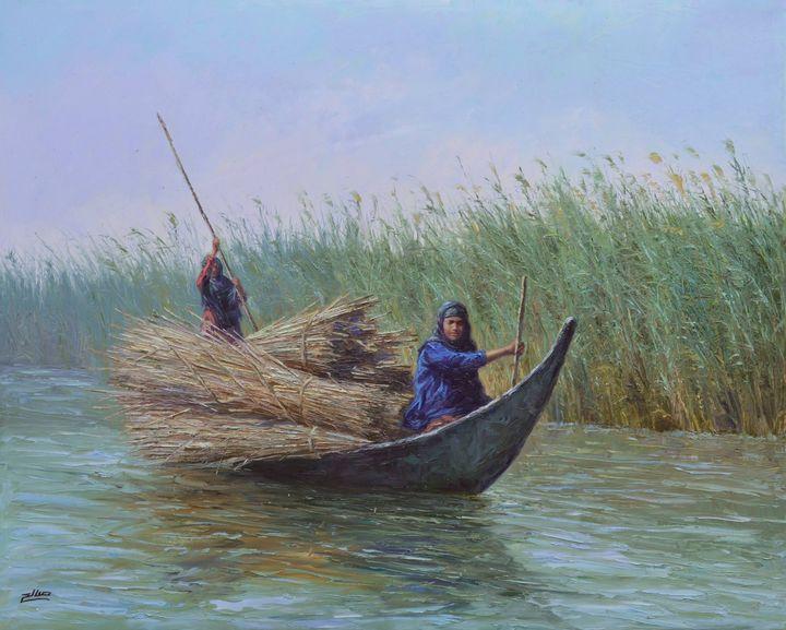 Women from the Marshlands - salih