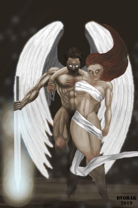 Angel vs Demons - DDvorak