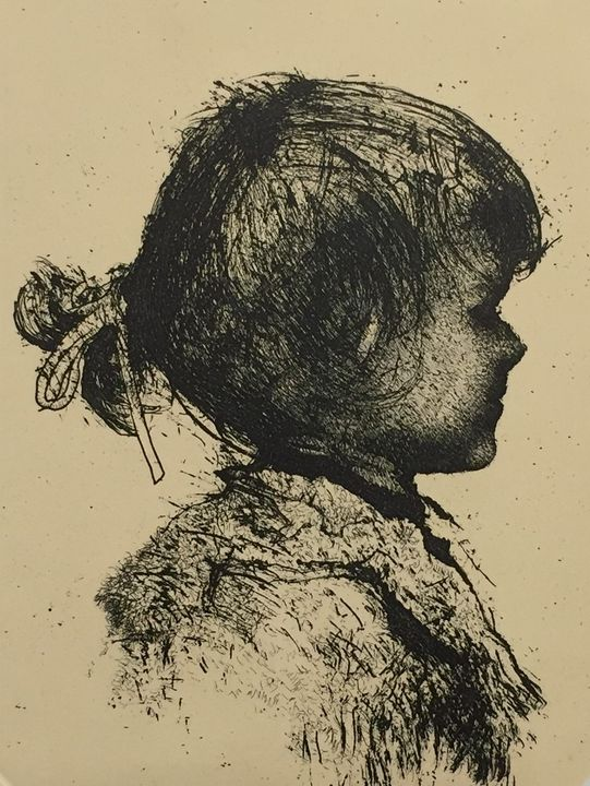 Little girl profile - Much more than Rome