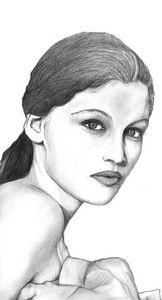 Portrait of Laetitia Casta