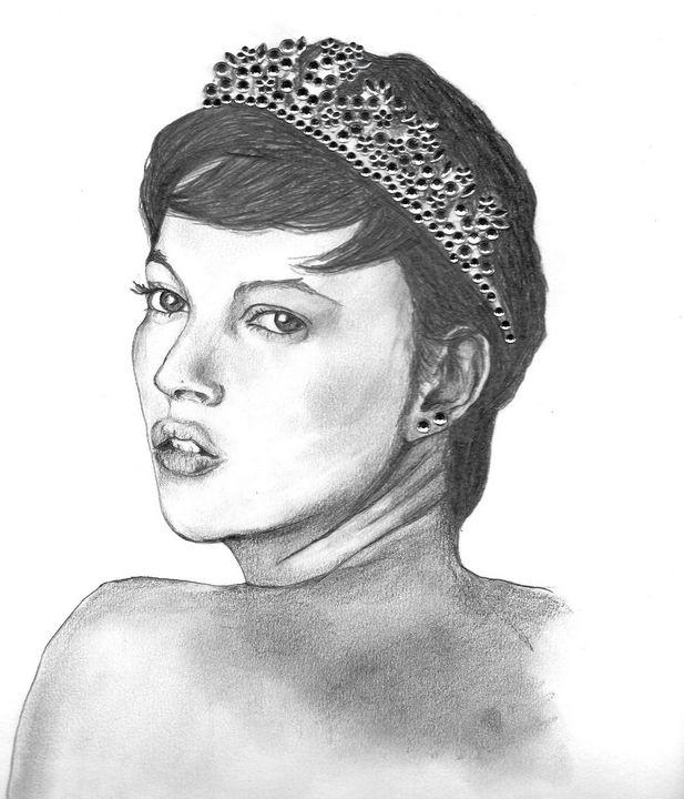 Portrait of Kate Moss - E.G