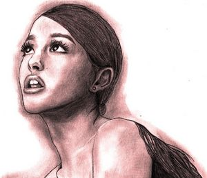 Portrait of Ariana Grande