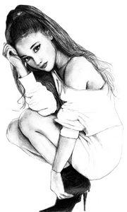 Portrait d'Ariana Grande