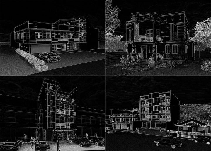 Buildings Gallore - C & F Gallery