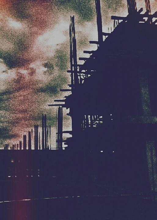 Rust Tower & Acid Rain - C & F Gallery