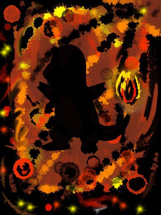 Shadow Charmander - Cookie