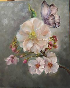 A butterfly on flowers - Elena Virenova