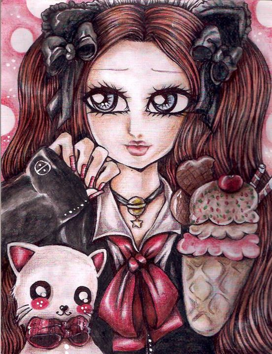 Sweet Kitty - sachikomiliart