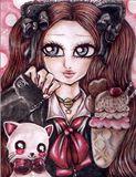 Original painting Sweet Kitty