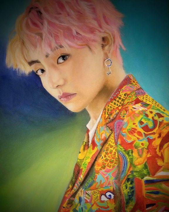 """""""V"""" Kim Taehyung of BTS - RYcreative1"""