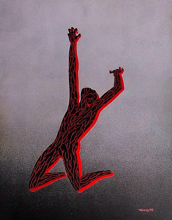 """Pain"" - Art of Jay Thomas II"