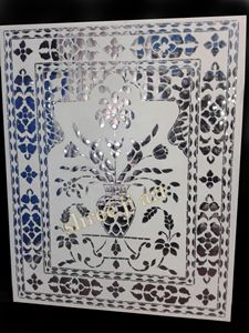 HANDICRAFT GLASS PANEL