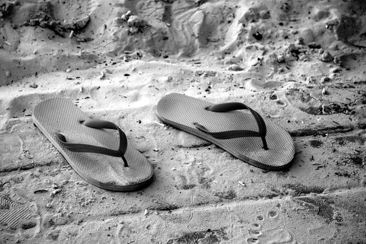 Sandals in the Sand - CD Photography