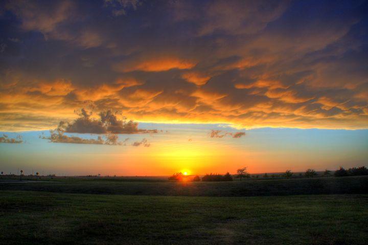 Turbulent Sunset - CD Photography