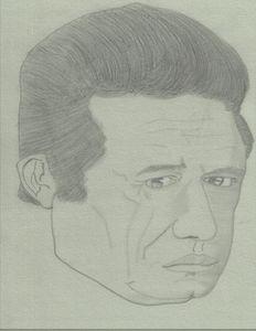Johnny Cash - Art By Lamar
