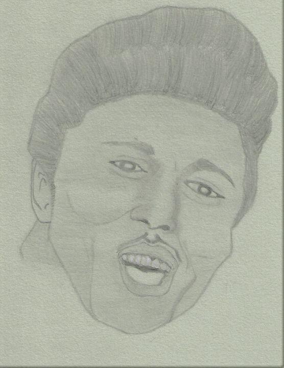 Little Richard - Art By Lamar