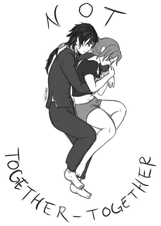 Not Together-Together - SketchyGrl- Sketch's Book