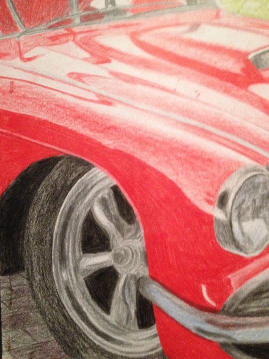 Red car - Chrisb