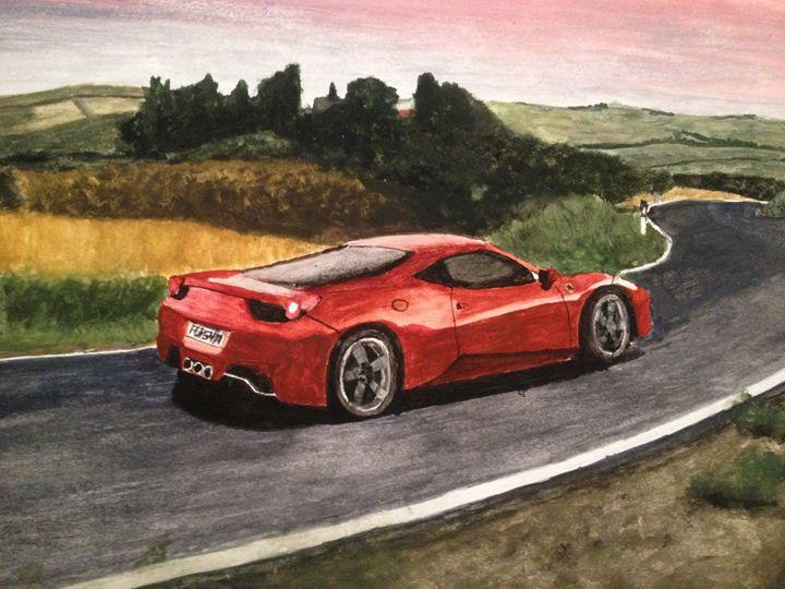 Ferrari countryside - Chrisb