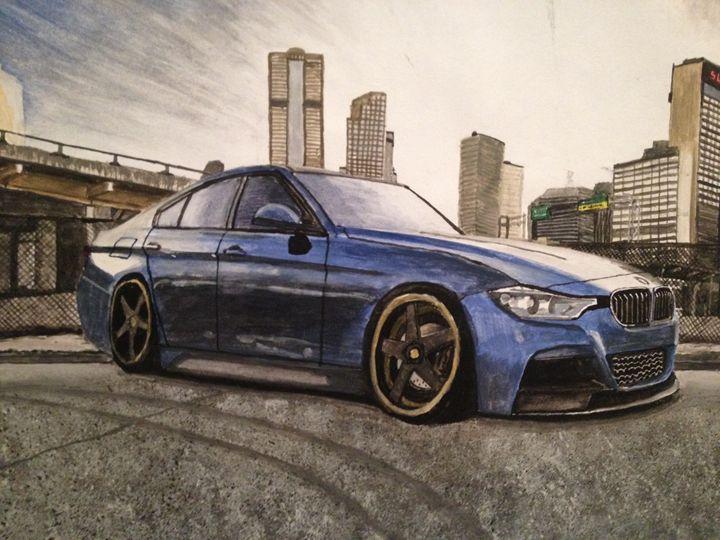 BMW city scene - Chrisb