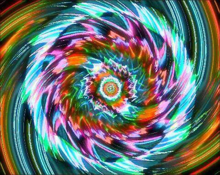 sacred geometry ying yang blade - land of illusions
