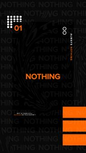 DIGITAL POSTER-NOTHING