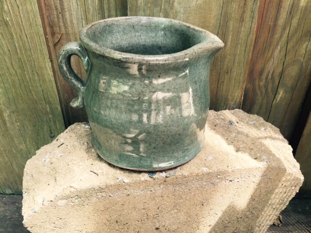 Sea Green Celadon Pitcher - Creations by Lena