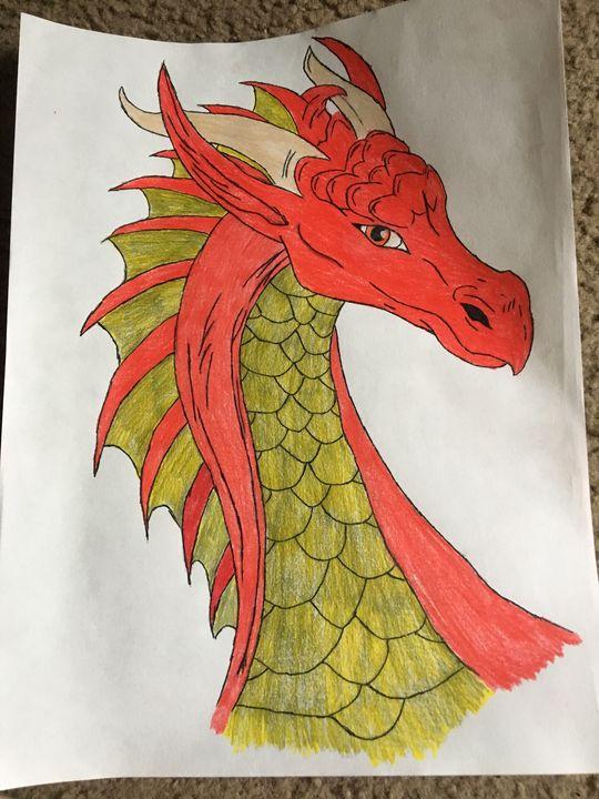 Fire dragon - Arwen Orren