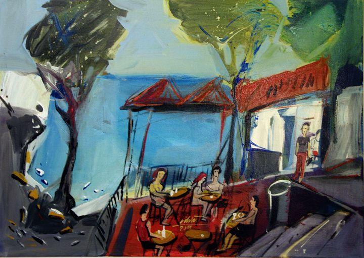 the bar on the beach - Jure Cihlar