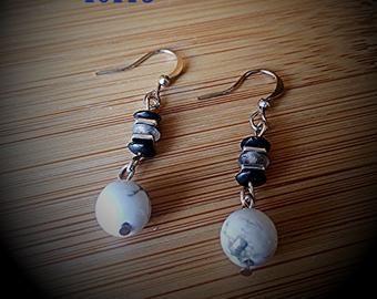 Gemstone Drop Earrings - Angela Brown