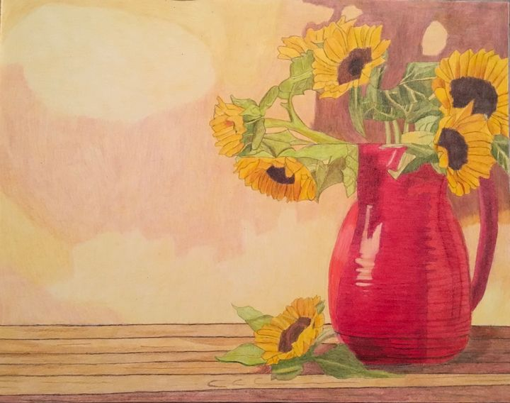 Sunflowers - Raymond Samuel