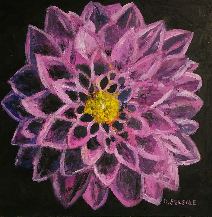 Original Oil painting on board - Daniela Sersale