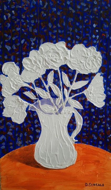 """Texture"" original painting - Daniela Sersale"
