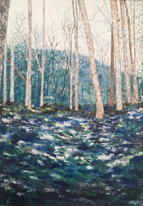 Il bosco raccontato original paintin - Daniela Sersale