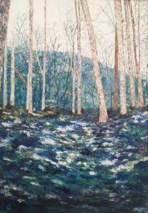Il bosco raccontato original paintin