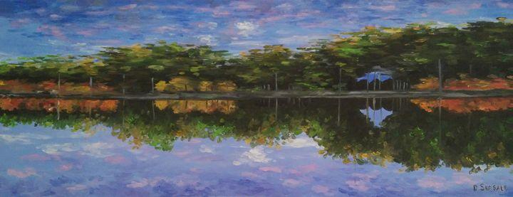 """Upside down"" original oil painting - Daniela Sersale"