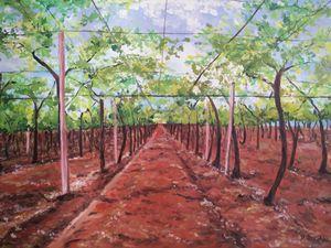 """Linee guida"" oil painting - Daniela Sersale"