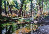 Original oil painting 19.7 x 27.5 in