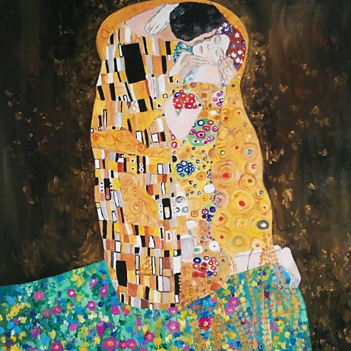 """La mia versione di """"il bacio"""" - Daniela Sersale"""