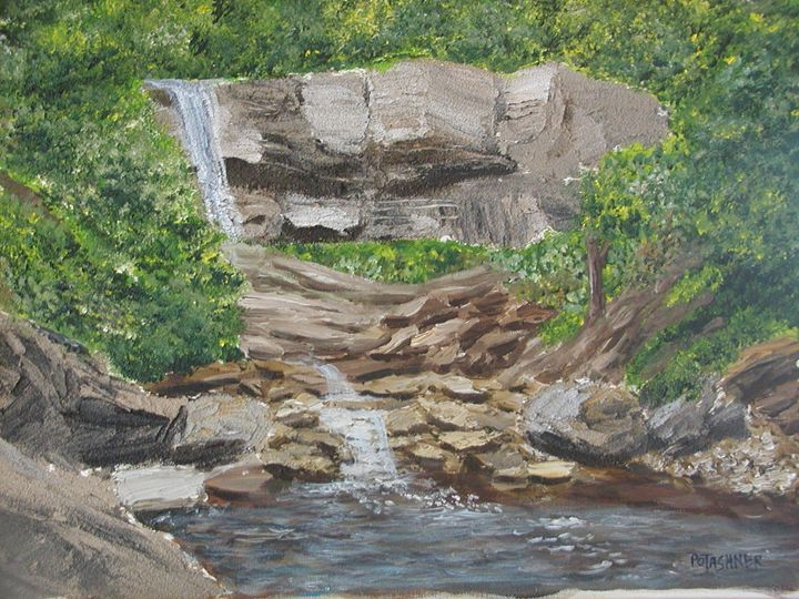 falls in dundas ontario - martins art