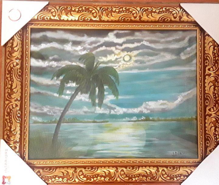 Moonrise (after George Inness) - Magic Brush Art Studios
