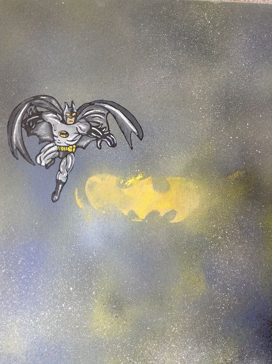 The caped crusader - Amber French