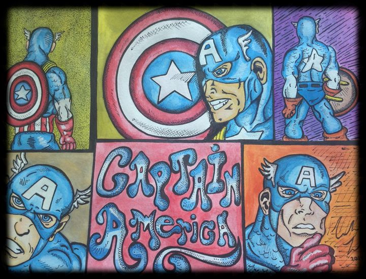 Captain America - Amber French