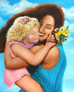 In Her Mother's Arms