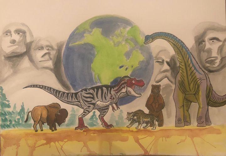 Happy New Year, USA! - Stegosaurus1412