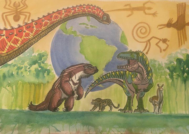 Happy Holidays, South America! - Stegosaurus1412