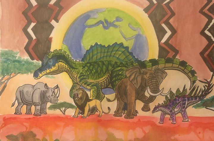 Happy New Year, Africa! - Stegosaurus1412